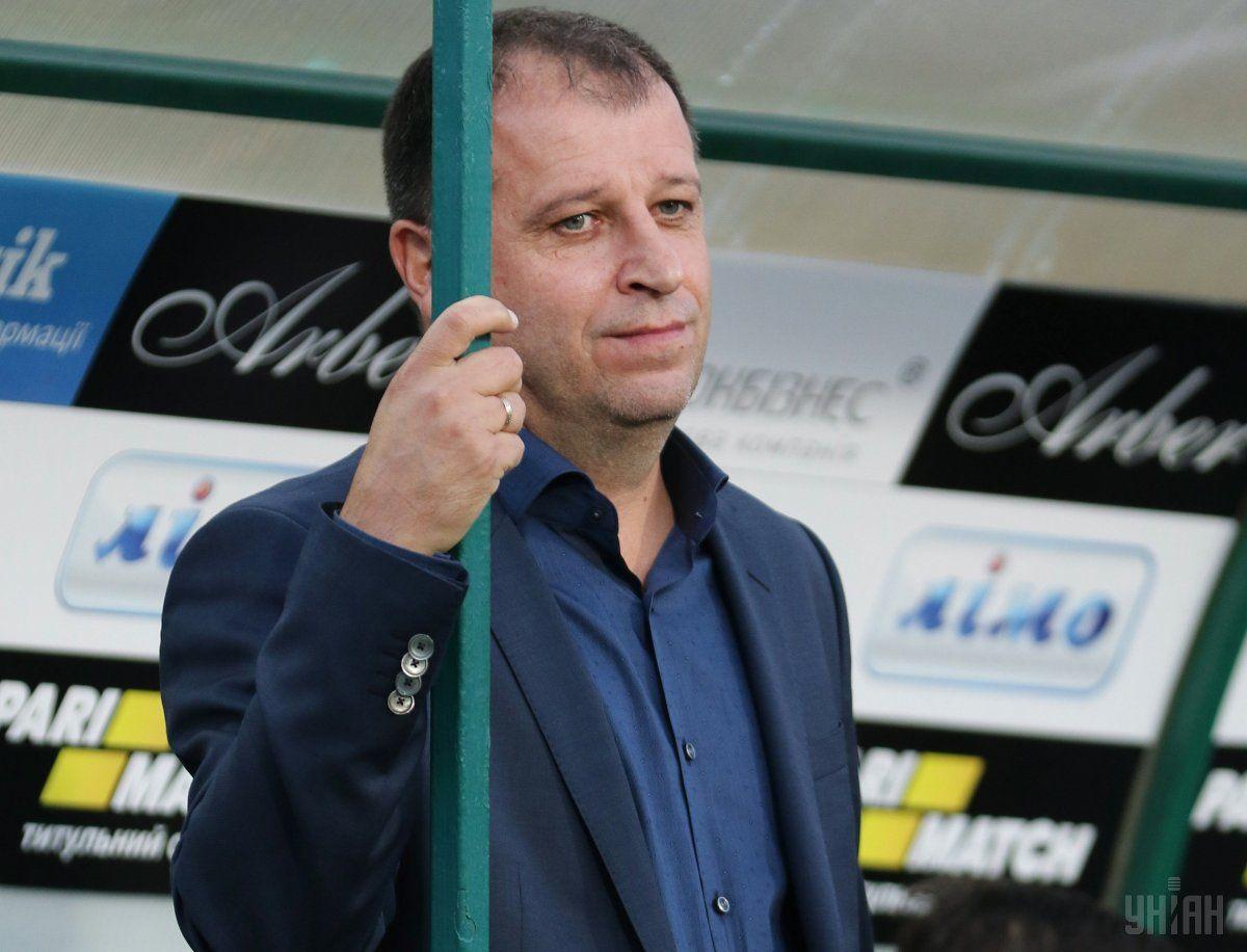 Юрій Вернидуб вибачився перед уболівальниками за матюки в ефірі ТБ / УНІАН