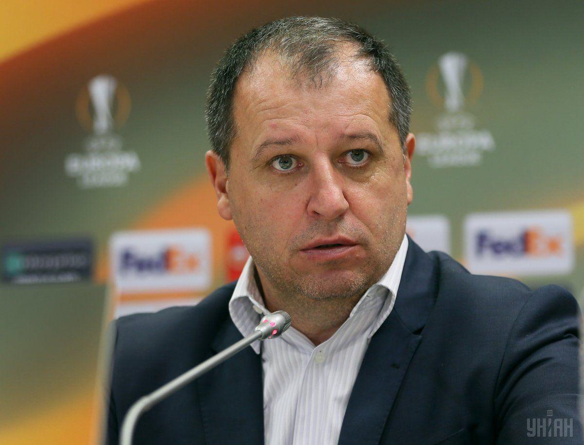 """Вернидуб зірвався на післяматчевій прес-конференції після гри """"Зорі"""" з """"Шахтарем"""" / УНІАН"""