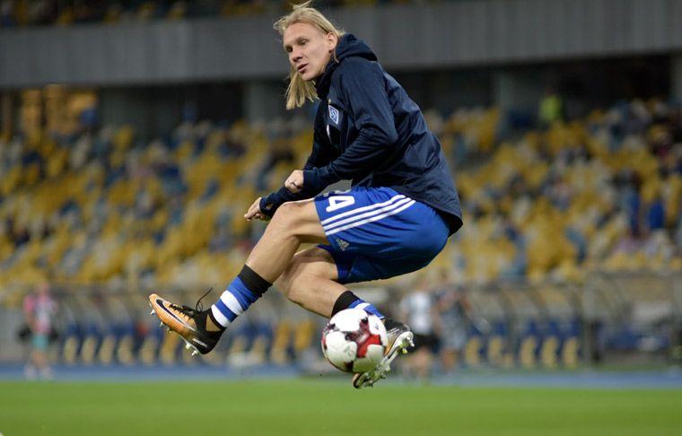 Защитник «Динамо» Домагой Вида может остаться вкоманде