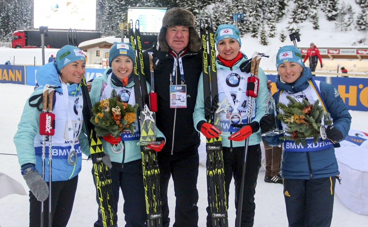 The composition of the Russian national biathlon team for the season 2018 - 2019 65