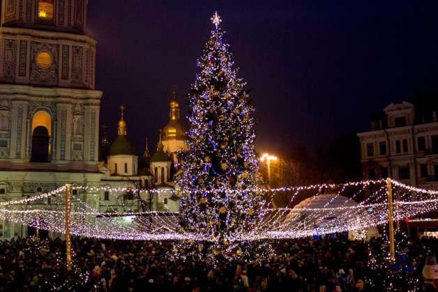 В центре Киева на Софийской площади впервые будут праздновать католическое Рождество / glavcom.ua