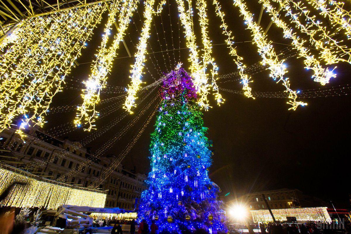 В ночь на 1 января в столице около нуля / фото УНИАН