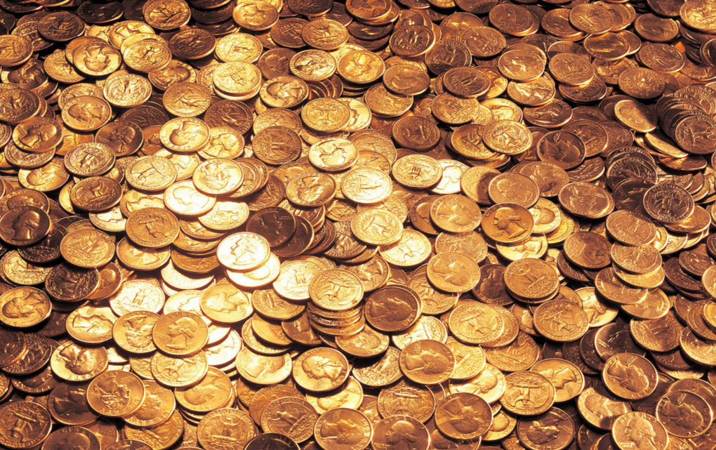 В Германии мужчина оставил детям в наследство 1,2 миллиона мелких монет / entropymag.org