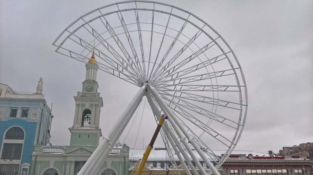 21 июня считается Днем рождения колеса обозрения / Фото УНИАН