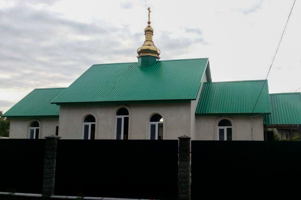 Храм в Катериновке побудували на гроші прихожан УПЦ / Фейсбук