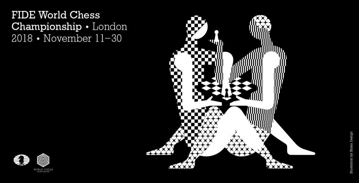 Логотип чемпіонату світу-2018 з шахів викликав неоднозначну реакцію / worldchess.com