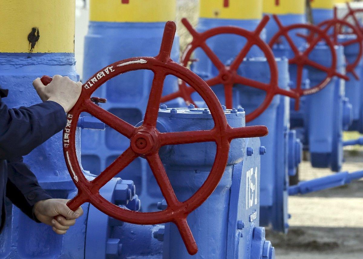 Украина начала сокращать запасы газа в хранилищах /REUTERS