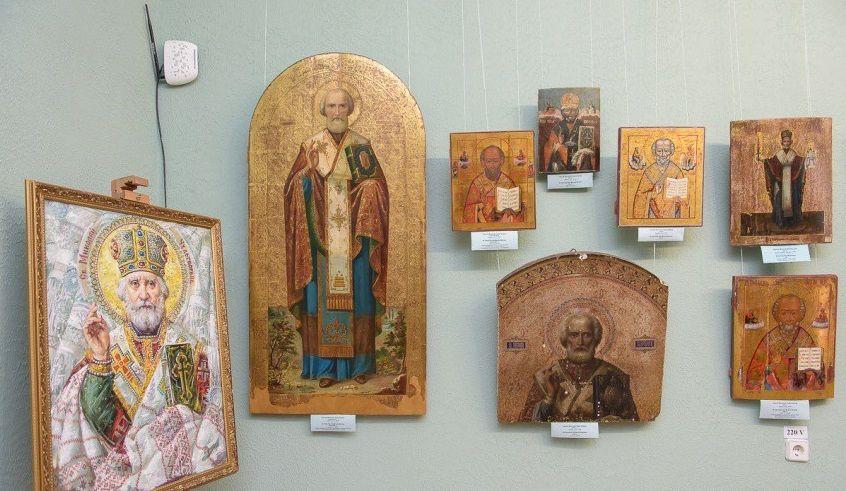 Виставка ікон святого Миколая / dozor.kr.ua