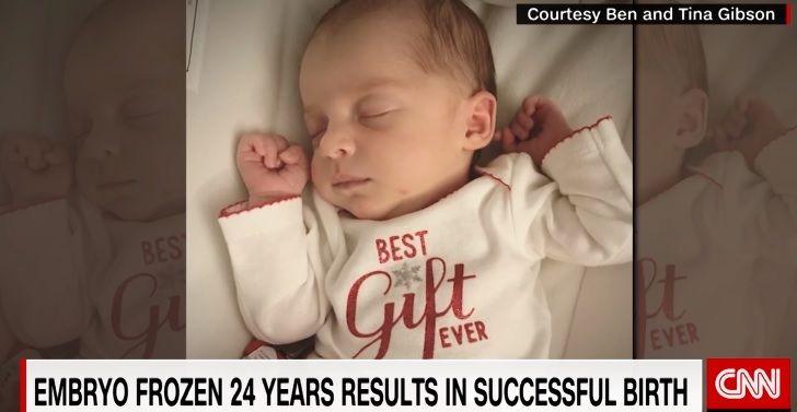 26-річна американка народила зачатої більше 24 років назад дитини / Скріншот
