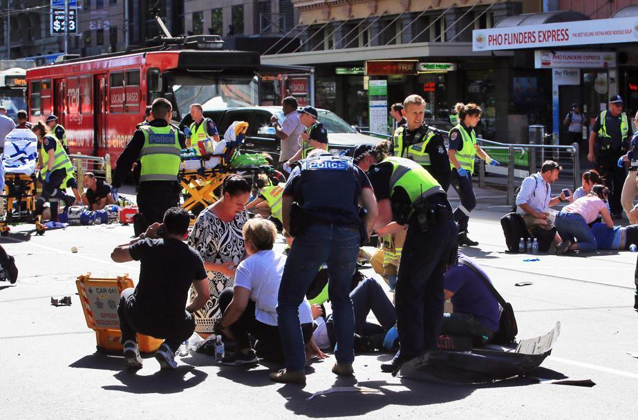 За даними поліції, нападник був громадянином Сомалі \ storify.com
