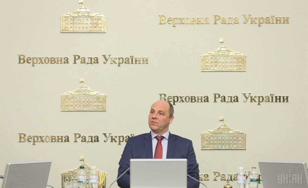 Парубий является соавтором законопроекта о Избирательный кодекс / фото УНИАН