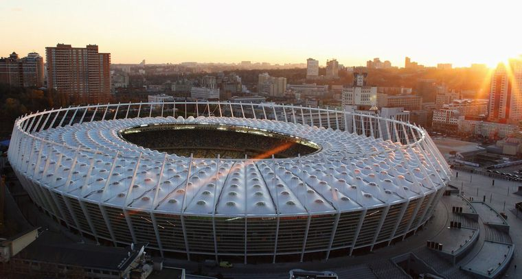 Kyiv's Olimpiyskiy Stadium will host the match / Photo from dynamo.kiev.ua