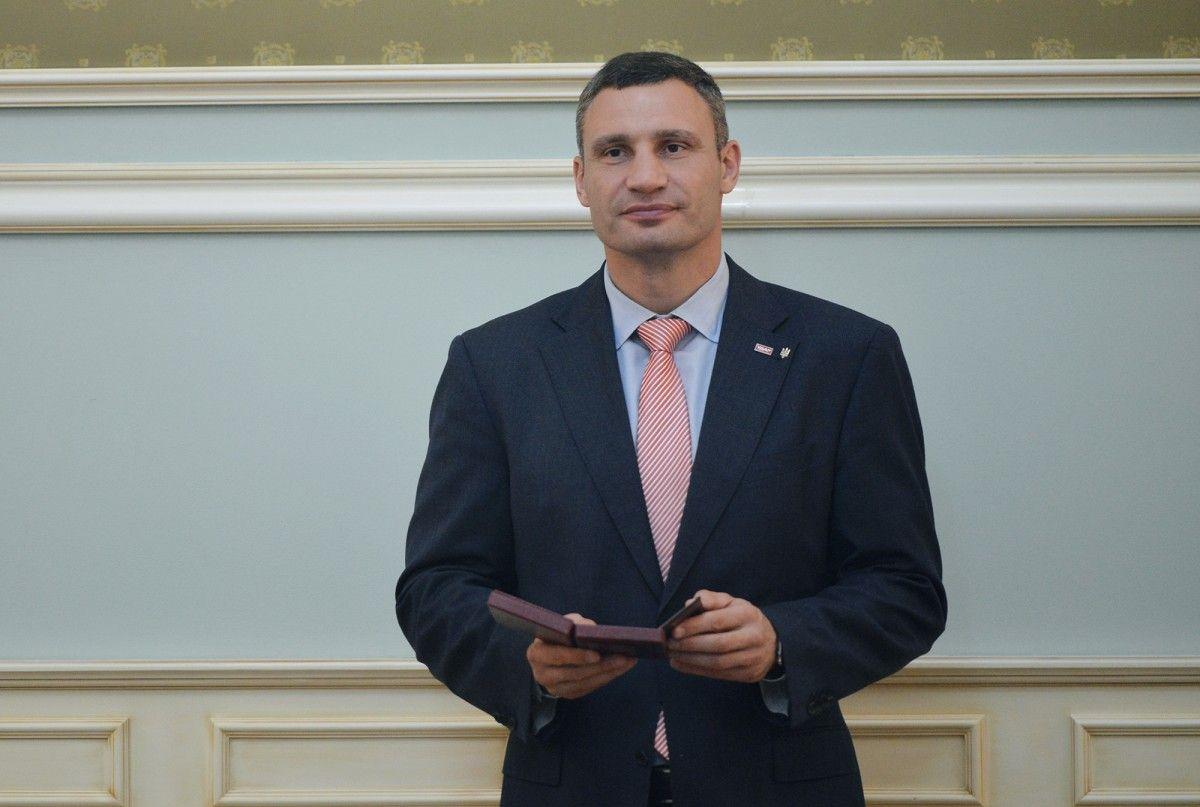 Кличко додав, що найбільше коштів наступного року міська влада планує спрямувати на освіту киян / фото kiev.klichko.org