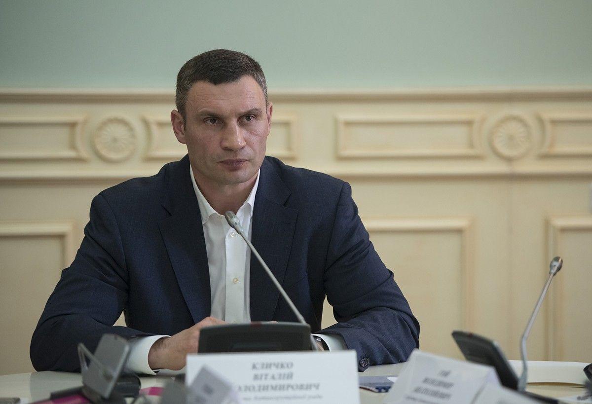 Кличко выразил мнение о работе своих предшественников / фото kiev.klichko.org