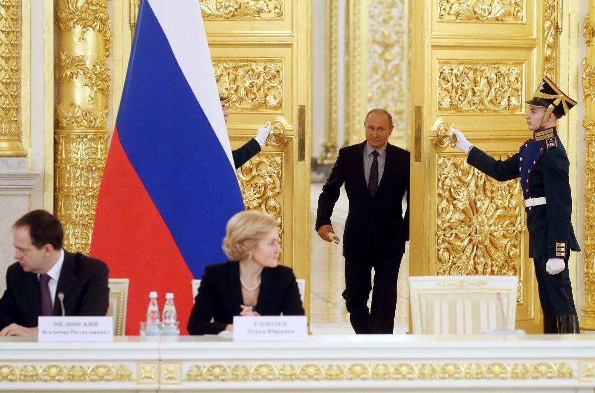 Володимир Путін / Ілюстрація REUTERS