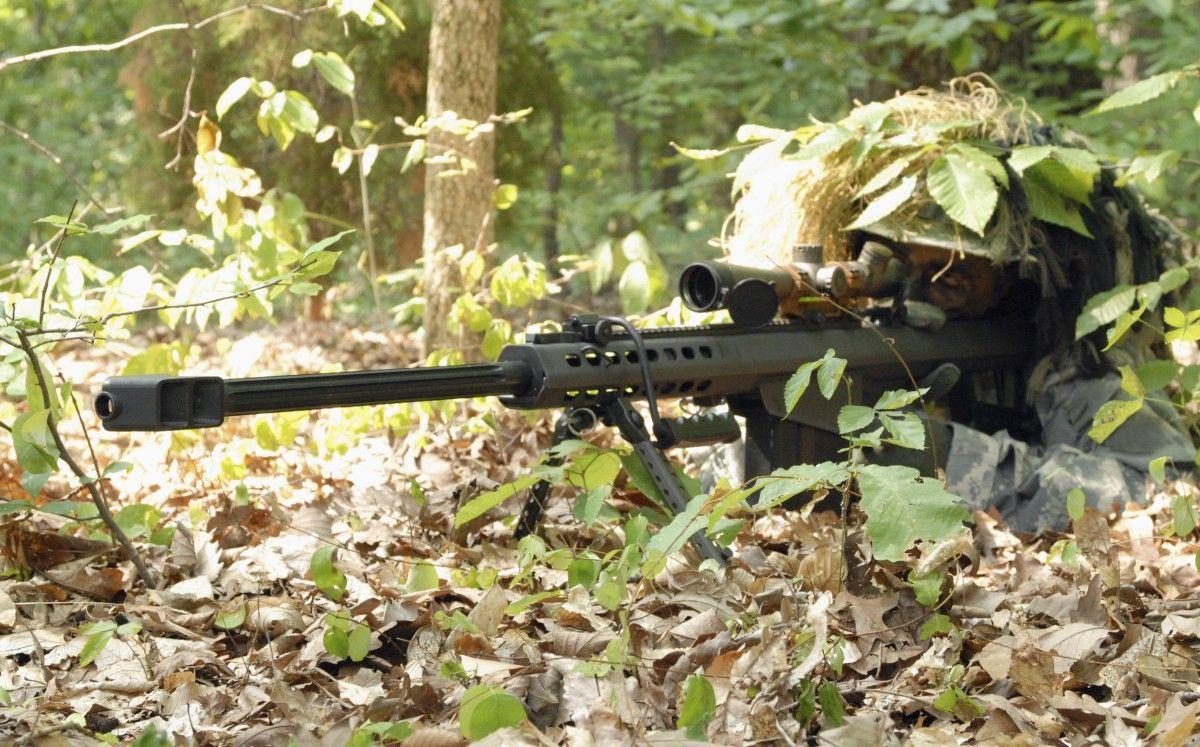 На Донбассе уменьшилось количество снайперских обстрелов со стороны оккупантов / фото wikipedia.org