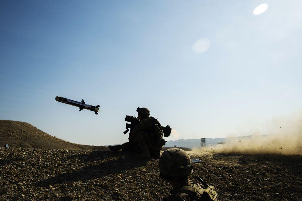 Випробування ПТРК Javelin / REUTERS