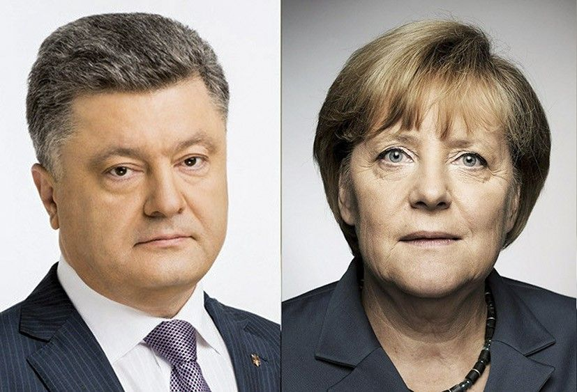 Порошенко проинформировал Меркель о разблокировании создание Антикоррупционного суда в Украине / фото president.gov.ua