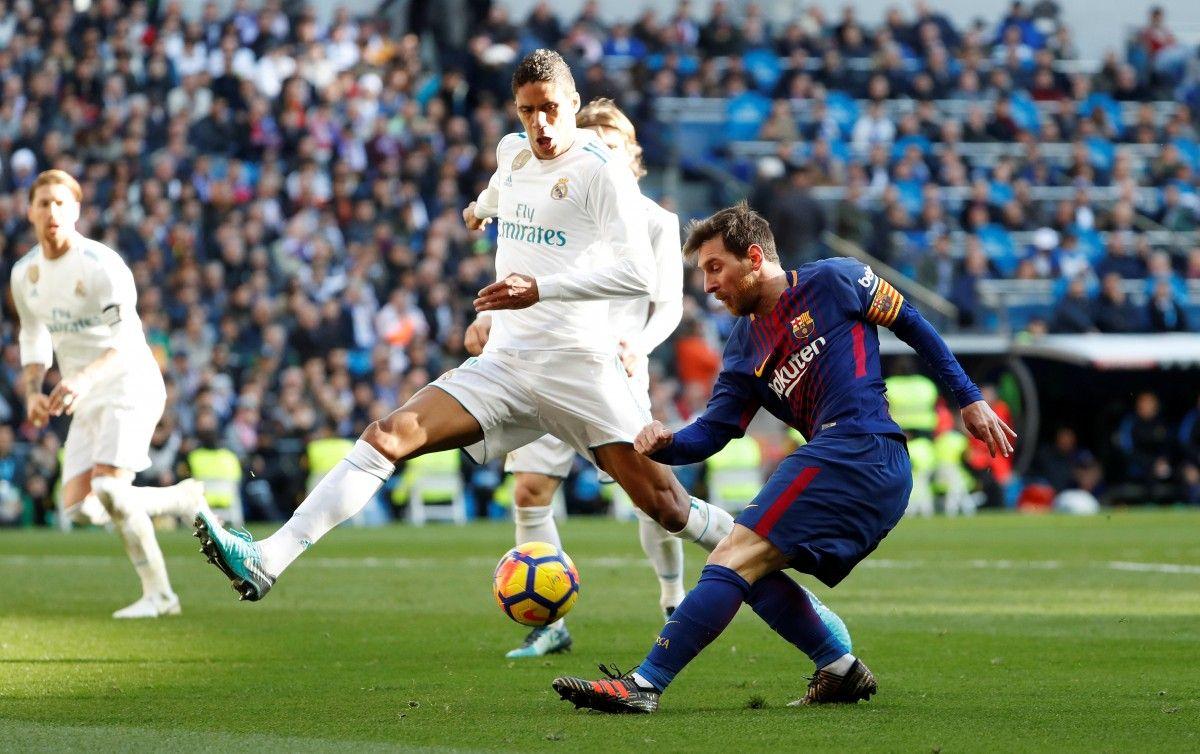 Реал - Барселона / REUTERS