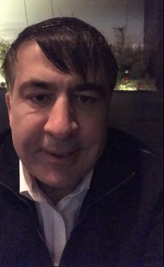 Saakashvili in Kyiv / Photo from Strana.ua