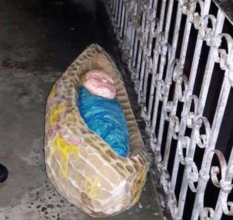 ВЛьвове мужчина похитил изрождественского вертепа колыбель сИисусом