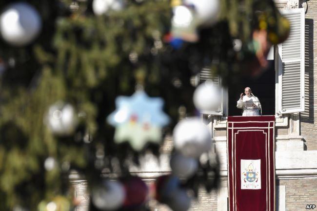 Папа Римский попросил о«даре мира для всего мира»