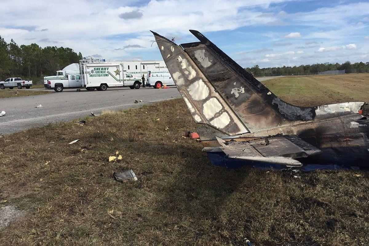 ВоФлориде при крушении двухмоторного самолета погибли 5 человек