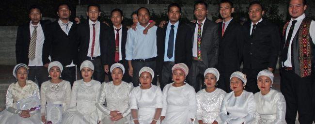 16 членів громади Бней-Менаше одружилися заново на загальній церемонії / Shavei Israel