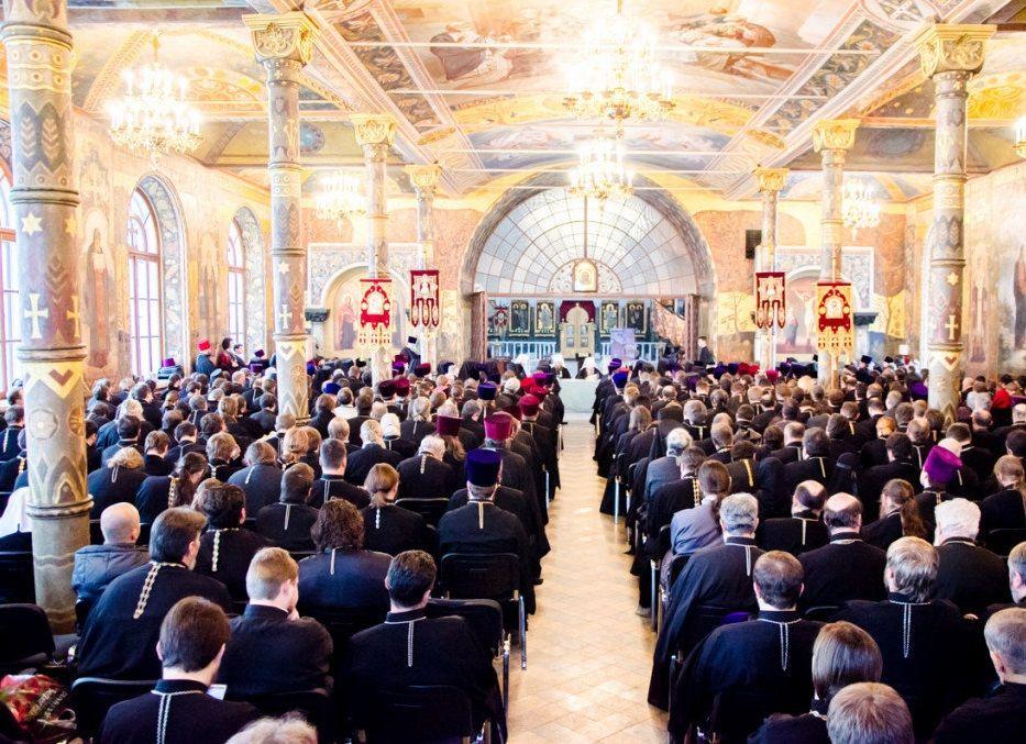 Єпархіальні збори духовенства Київської єпархії УПЦ / news.church.ua