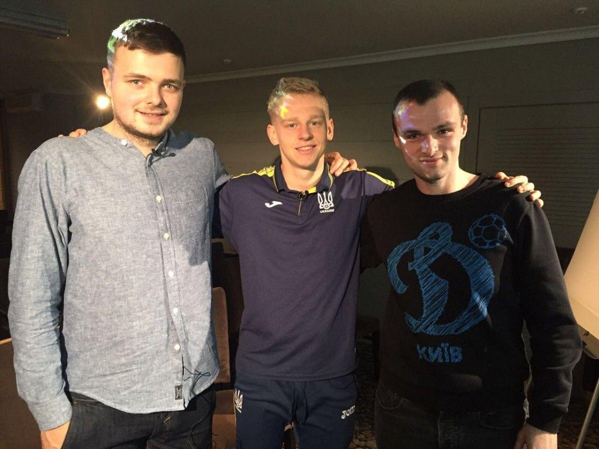 Зинченко поиграл в симулятор с чемпионом Украины по киберспорту / facebook.com/footballhubua/
