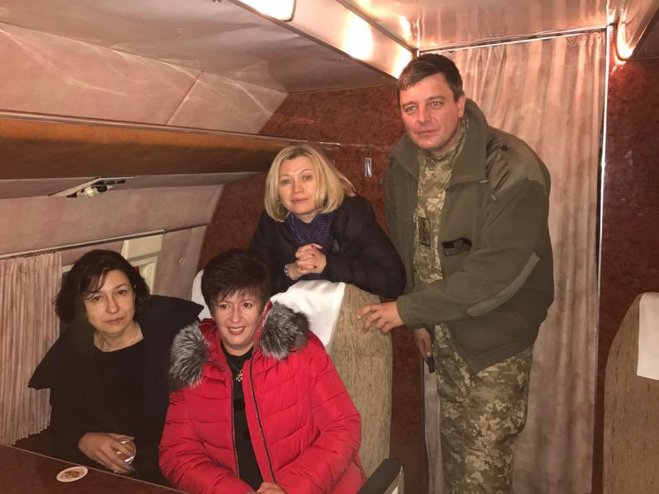 APTOPIX Ukraine Prisoner Exchange