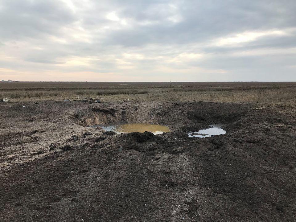 Заезды военной техники и взрывы крупнокалиберных ракет на этой территории недопустимы, подчеркивают экологи / фото facebook.com/yuri.biriukov