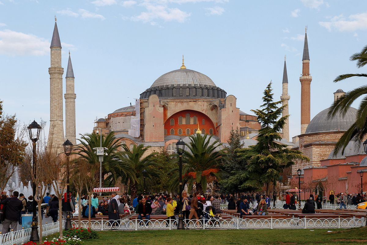 Сегодня Софийский собор включён в состав Всемирного наследия ЮНЕСКО / upload.wikimedia.org