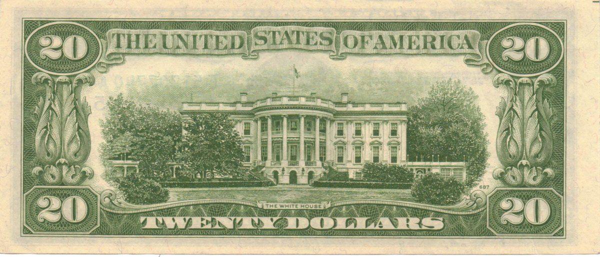 Легендарное дерево зафиксировано на 20-долларовой банкноте / фото charibas.ga