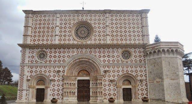 В Аквиле после 8-летней реставрации открылась средневековая базилика, пострадавшая от землетрясения / cittaitalianedarte.blogspot.com