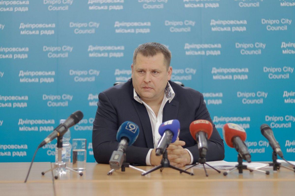Филатов представил отчет о работе в должности за 2017 год / фото УНИАН