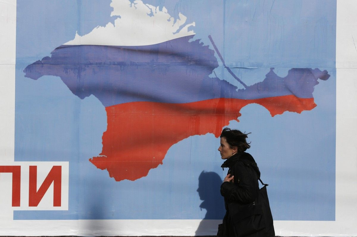 The Crimea issue should be integrated into the general agenda of relations with Russia / REUTERS