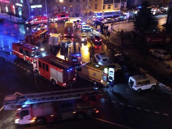 О причинах взрыва не сообщается / фото fontanka.ru