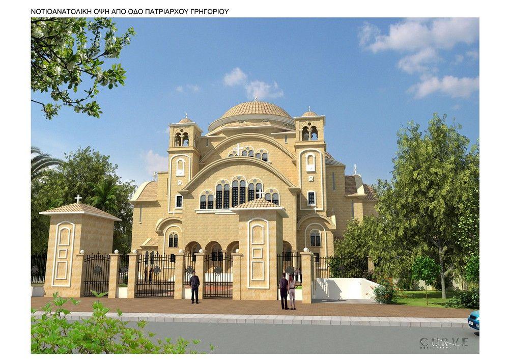 В Нікосії закладено новий Кафедральний собор Кіпрської Православної Церкви / archive.churchofcyprus.org.c