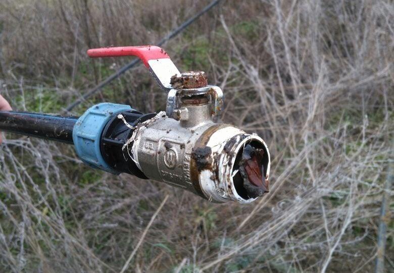 Спиртопровод проходил по дну Кучурганского лимана / фото dpsu.gov.ua