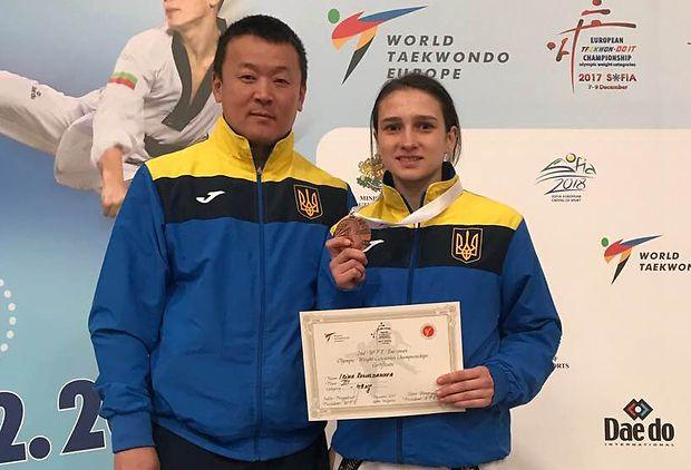 Представительница тхэквондо впервые получила звание кращоъ спортсменки месяца в Украине / noc-ukr.org