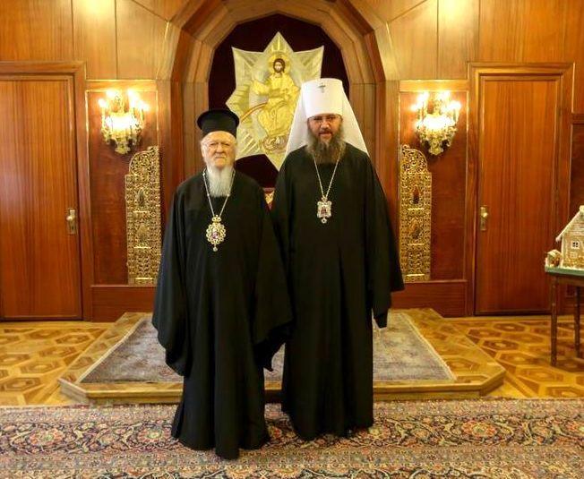 Встреча Управляющего делами УПЦ со Святейшим Патриархом Константинопольским проходила в Стамбуле / pravlife.org