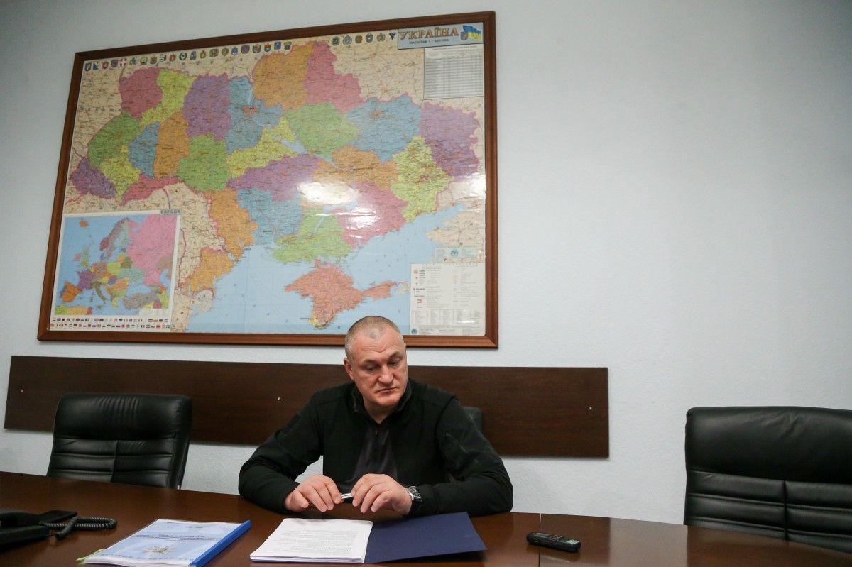 Князєв звітує, що кількість розкритих нами злочинів зросла на 40 тисяч / УНИАН