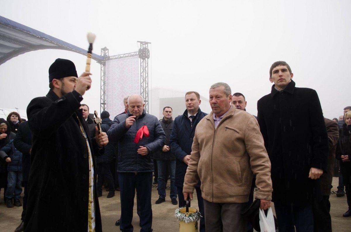 Наприкінці року на Тернопільщині відкрили чимало підприємств, зокрема елеватор у Дзвинячі за 5 млн. євро / фото – прес-служба ТОДА