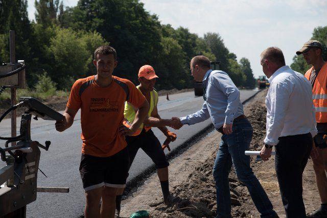 Цьогоріч в ремонт доріг області вклали рекордну суму коштів / фото – прес-служба ТОДА