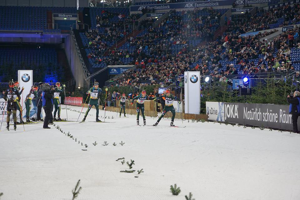 Джима и Реш не смогли попасть в призеры Рождественской гонки / facebook.com/BiathlonaufSchalke