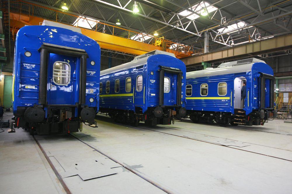 З 38 вагонів 11 виготовлені з трансформаційною меблями / фото kvsz.com