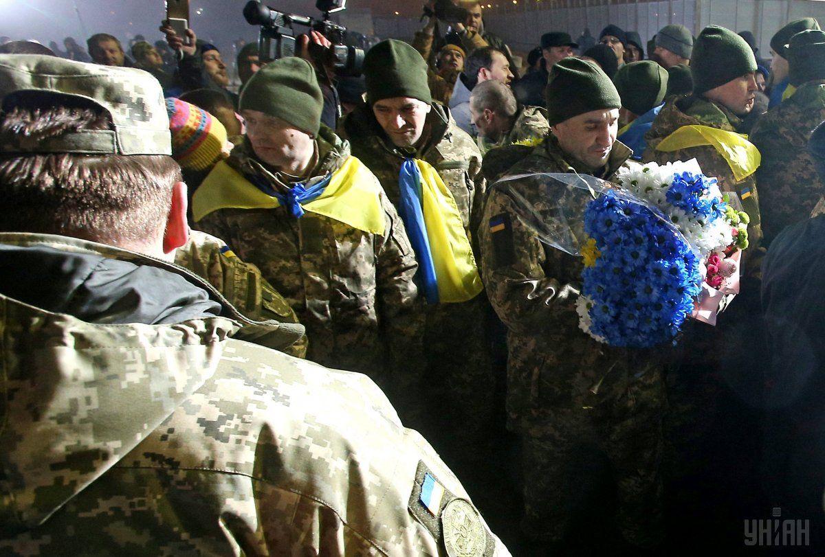 На подконтрольную Украине территорию вернулись 73 человека / фото УНИАН