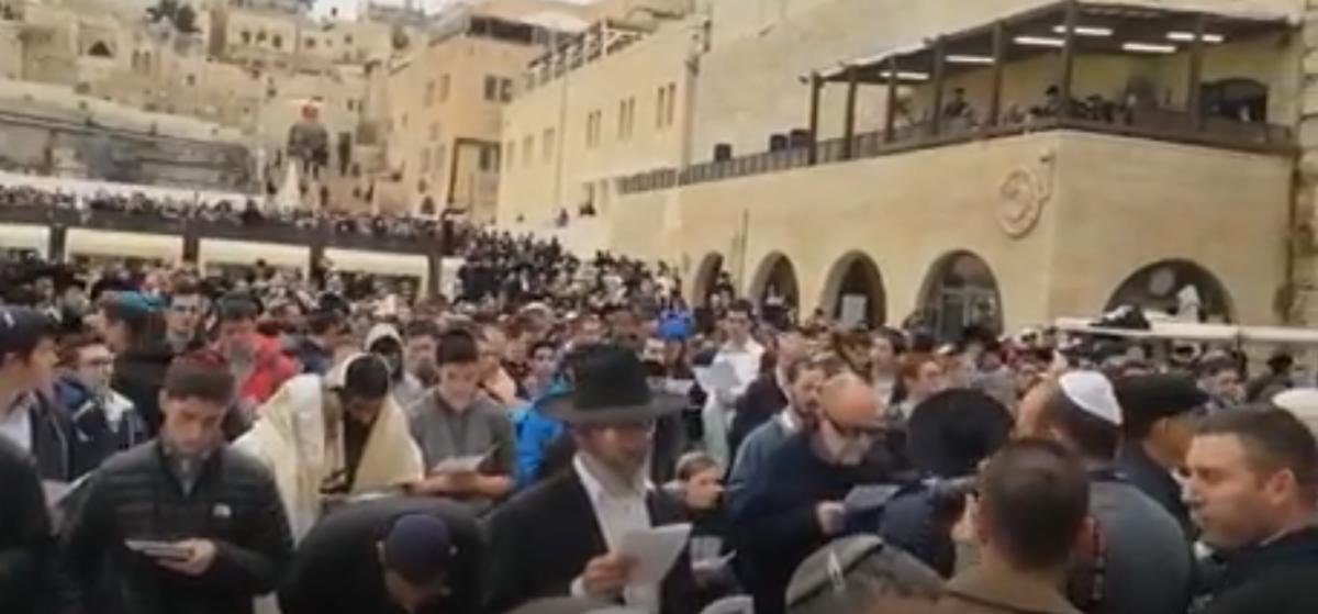 На молитву про дощ ізраїльтян закликав міністр сільського господарства / timesofisrael.com