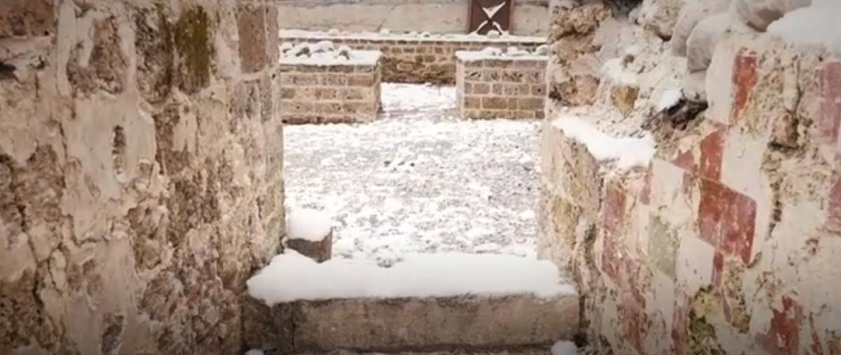 Возле дома Хусейн обнаружил развалины старой церкви  / bbc.com